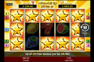 Amazing Stars Mobile Slot Free Spins