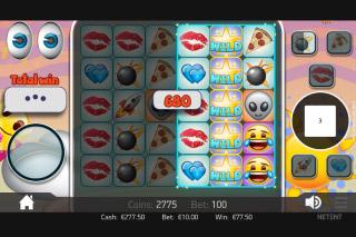 Emoji Planet Mobile Slot Bonus Game