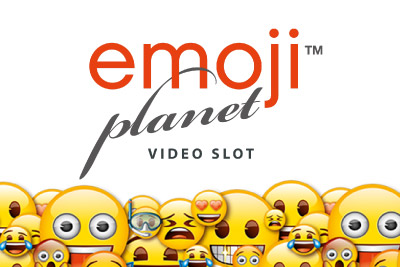 Emoji Planet Mobile Slot Logo