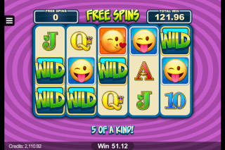 EmotiCoins Mobile Slot Free Spins With Wilds