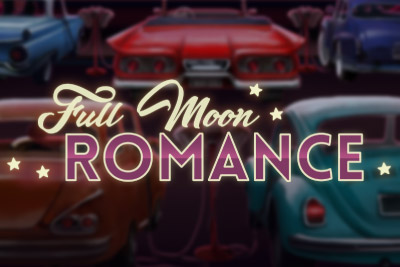 Full Moon Romance Mobile Slot Logo