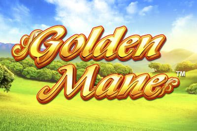 Golden Mane Mobile Slot Logo