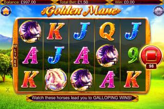 Golden Mane Mobile Slot Machine