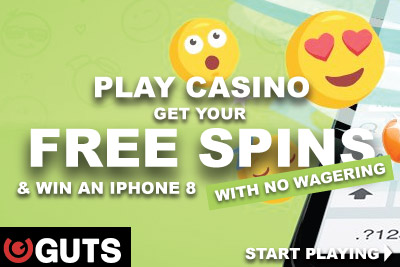 Play Slots For Free & Win An iPhone 8 At Guts