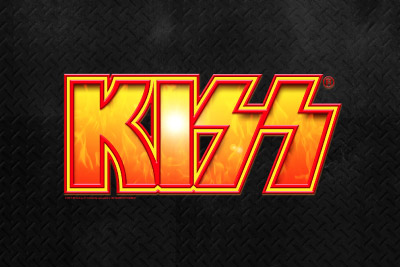 Kiss Mobile Slot Logo