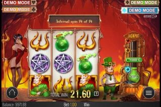 Leprechaun Goes To Hell Mobile Slot Bonus