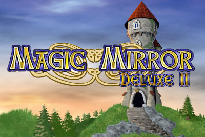 Magic Mirror Deluxe II Slot Logo