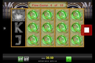 Magic Mirror Deluxe II Mobile Slot Stacked Symbols