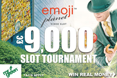Emoji Planet Real Money Slot Tournament At Mr Green