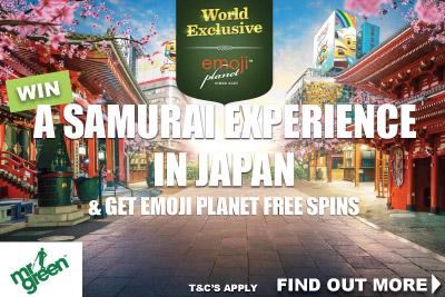 Get Emoji Planet Free Spins & Win A Samurai Experience
