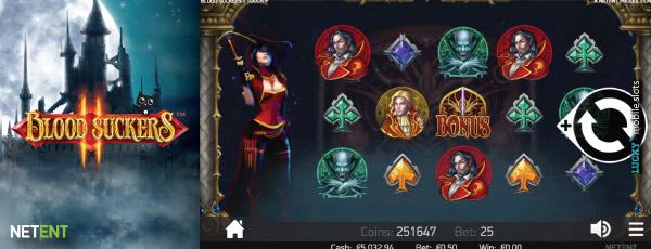 Spiele Blood Suckers II Slot - Video Slots Online