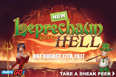 New Play'N GO Leprechaun Goes To Hell Slot 2017