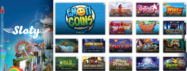 Play Slot Machines At Sloty Casino On iPad, Android & More