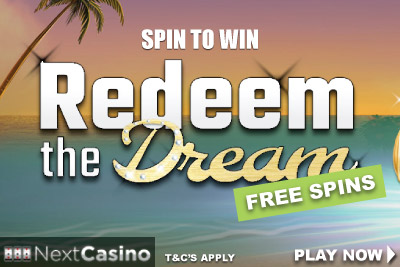 Get NextCasino Free Spins On Exclusive Slot Redeem The Dream