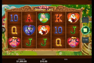 Oink Country Love Mobile Slot Machine