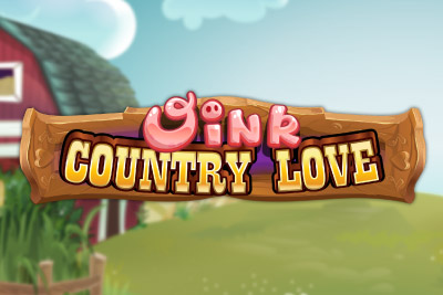 Oink Country Love Mobile Slot Logo