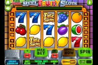 Reel Fruity Slots Mobile Slot Machine