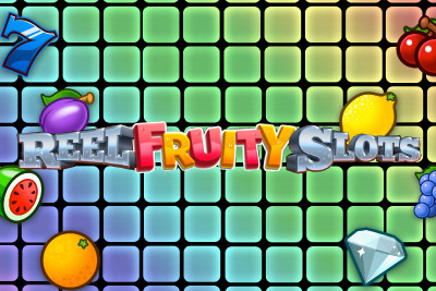 Reel Fruity Slots Mobile Slot Logo