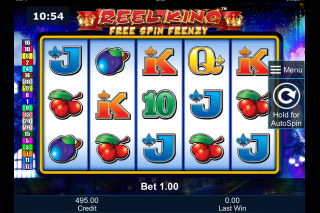Reel King Free Spin Frenzy Mobile Slot