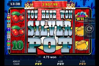 Reel King Potty Mobile Slot Silver Jackpot Won