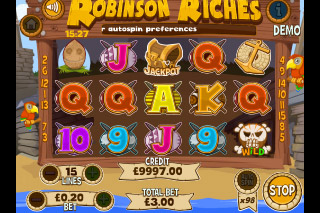 Robinson Riches Mobile Slot App