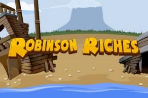 Robinson Riches Mobile Slot Logo