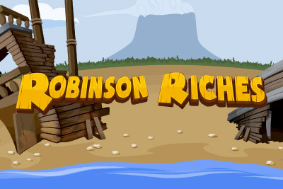 Robinson Riches Mobile Slot Logo