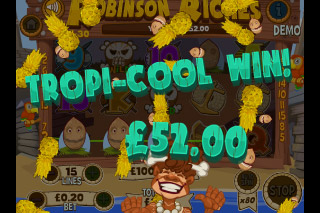 Robinson Riches Mobile Slot Win