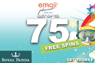 Get Your Emoji Planet Free Spins At Royal Panda Casino
