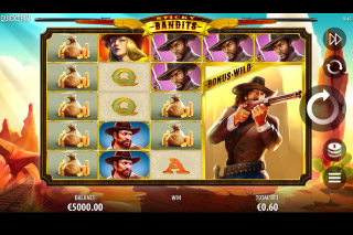 Sticky Bandits Mobile Slot Machine