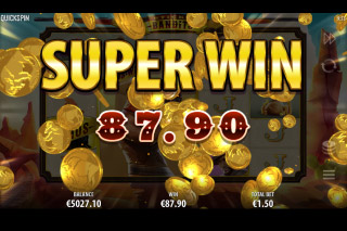 Sticky Bandits Mobile Slot Super Win