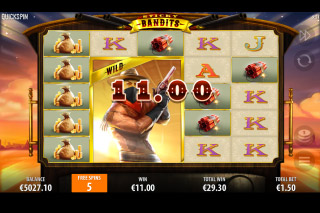 Sticky Bandits Mobile Slot Free Spins Wilds