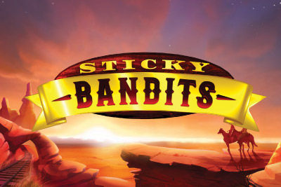 Sticky Bandits Mobile Slot Logo