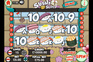 Sushi Slots Mobile Slot Machine