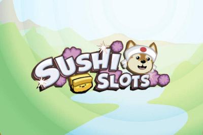Sushi Slots Mobile Slot Logo