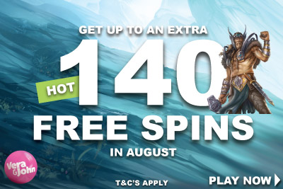 Get Your UK Casino Bonus Spins This August at Vera John