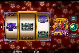 108 Heroes Multiplier Fortunes Mobile Slot Machine