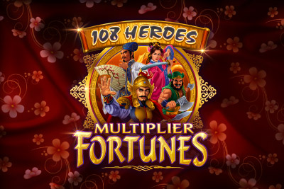 108 Heroes Multiplier Fortunes Mobile Slot Logo