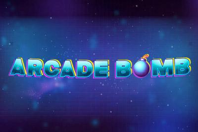 Arcade Bomb Mobile Slot Logo