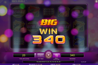 Disco Double Mobile Slot Big Win
