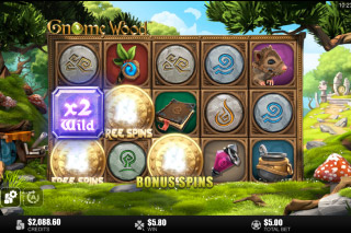 Gnome Wood Mobile Slot Free Spins Scatters