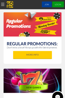GoWild Mobile Casino Promotions
