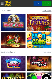 GoWild Mobile Casino Slots Games