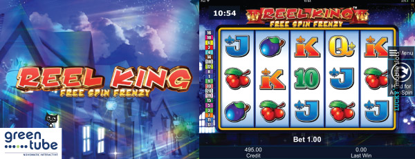Greentube 4 Reel Kings Free Spin Frenzy Video Slot