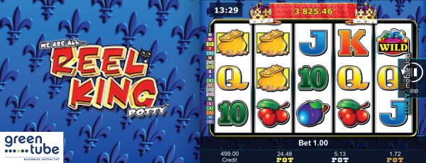 Play Reel King slot at Casumo
