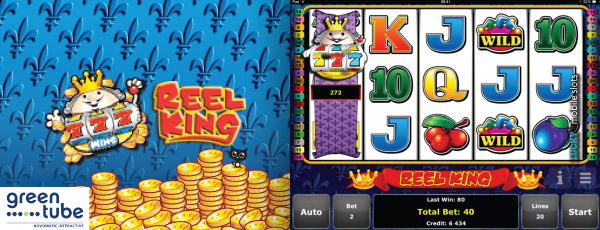 Greentube Reel King Slot Machine On iPad