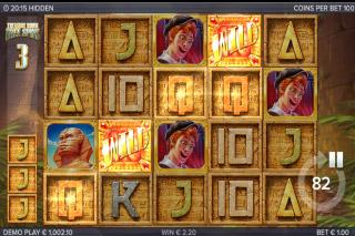 Hidden Mobile Slot Free Spins Bonus