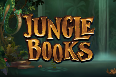 Jungle Books Mobile Slot Logo
