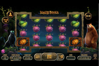 Jungle Books Mobile Slot Panther Bonus