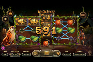 Jungle Books Mobile Slot Wilds Win